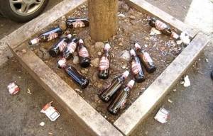 Bottiglie-abbandonate
